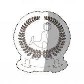 Sea lion cartoon icon vector illustration graphic design