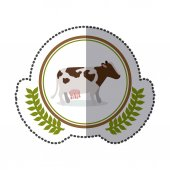 symbol cow sign icon