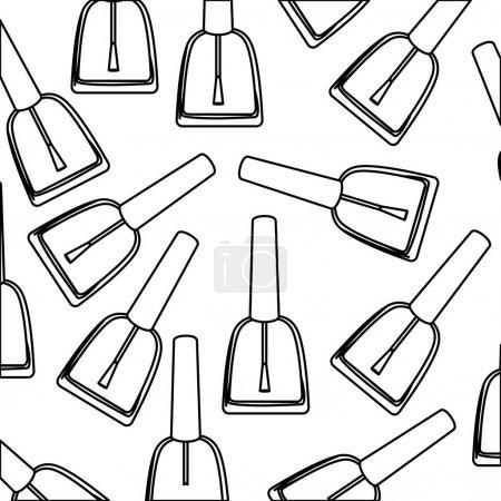 figure nails polish background icon