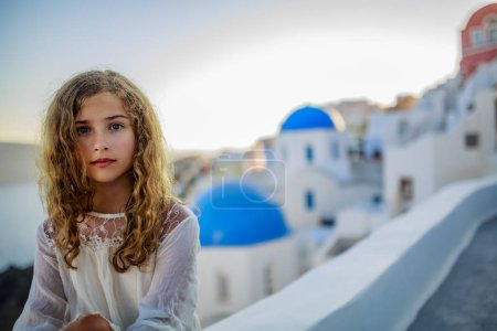 Portrait of young and beautiful girl