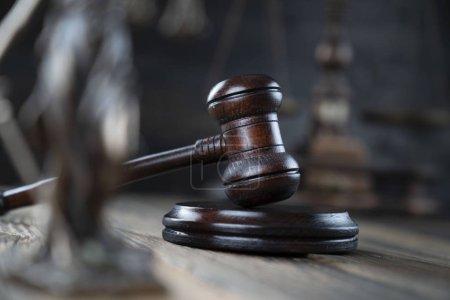 """Photo pour Thème """"Droit et justice"""", Président du Tribunal de première instance - image libre de droit"""
