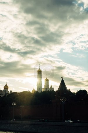 Moscow city architecture