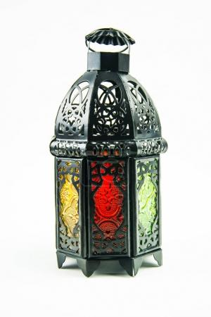 lightened Lantern style Arab or Morocco