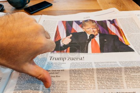 Thumb down for Doanld Trump