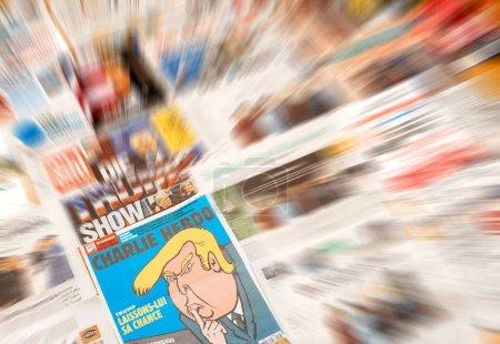 Charlie Hebdo Donald Trump Caricature