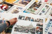 Die Welt Donald Trump inauguration by Die Welt german newspaper