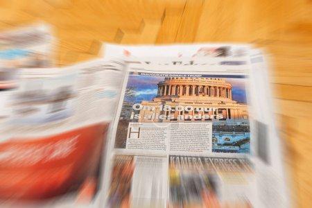 Algemeen Dagblad Dutch magazine above