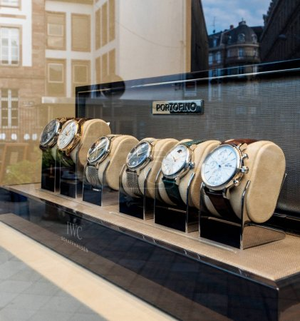 Luxury IWC Portofino watch store with Swiss Made watches