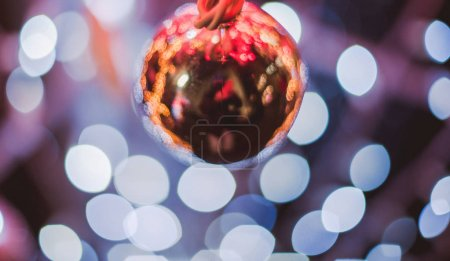 Magic round globes Shining for Christmas