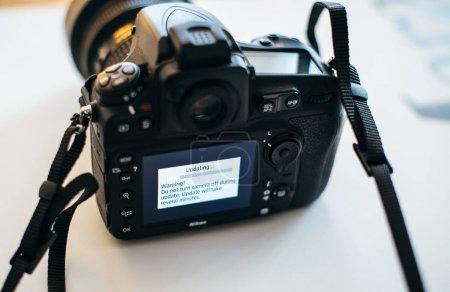 Nikon Professional DSLR camera update firmware