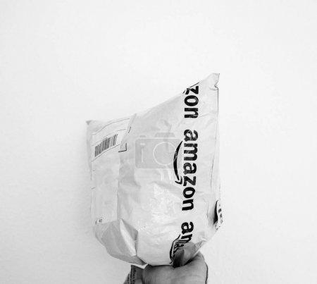Amazon Parcel plastic bag