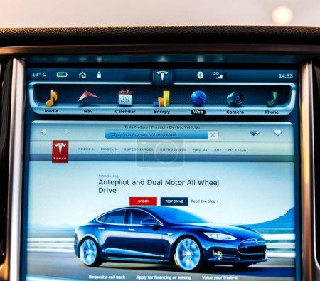 POV at the new Tesla