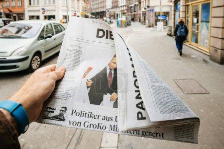 Die des élections présidentielles russes de Welt de 2018 avec le winne