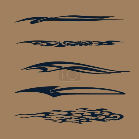 Car, Motorcycle Racing Vehicle Graphics, tribal Vinyls & Decals