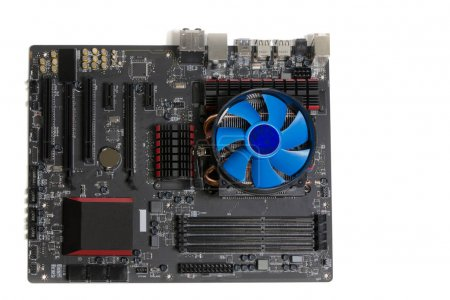 Photo for A new generation of motherboards with cooling. - Royalty Free Image