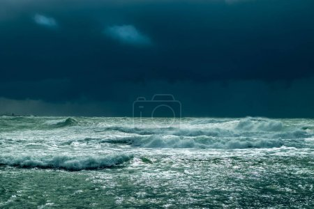 Photo for Sea storm with dramatic sky - Royalty Free Image