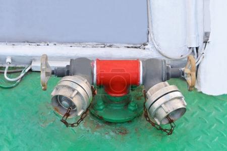 fireplug am schiffsdeck