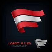 Flag of Austria Ribbon