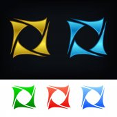 Stylish logo template
