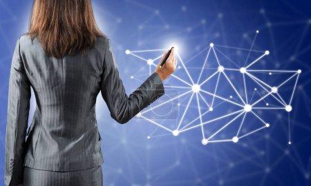 Social net concept