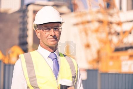 Senior engineer man