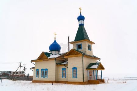 Winter view of St Nicholas