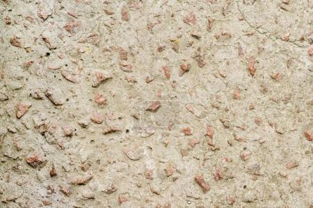 Photo pour Mur en béton avec des galets de granit - image libre de droit