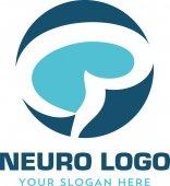 Neurology neuro medical Logo