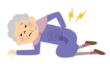 Elderly women,low back pain