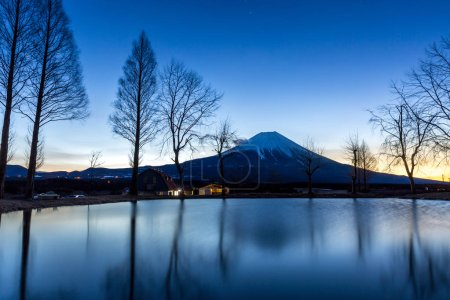 Lake and Mountain Fuji