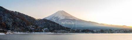 Mountain Fuji and Kawaguchiko