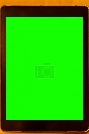 Tablet using as menu