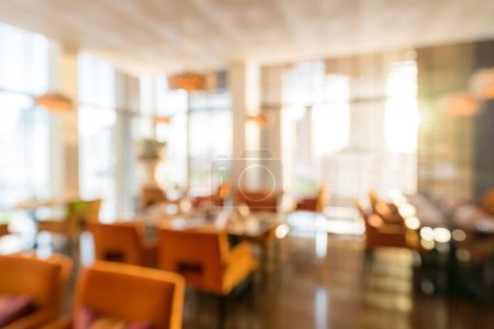 Photo for Abstrast Blurred background of restaurant cafe - Royalty Free Image