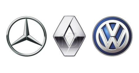 Collection of popular car logos