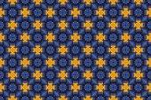 Seamless geometric rhombus pattern. Convex shine texture. Glitte