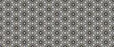 Digital art style technique modern oriental geometric check orna