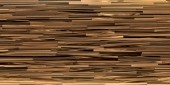 Narrow gray planks tightly packed into a dense texture of the no