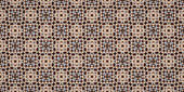 Kaleidoscope abstract background. Seamless pattern. Based on wood cups.