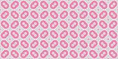 Seamless pattern with concentric circles. Raster copy illustration. For the interior design, printing, wallpaper, textile industry.