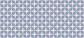 Abstract fractal background in high resolution with a detailed simple geometric flower-like pattern consisting of interconnected squares and ovals looking like squares in circles in dark blue color
