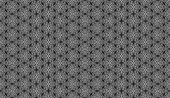 Abstract pattern of circles radiating stars