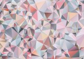 Abstract geometric background in low-polygonal style composed of