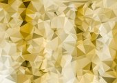 Abstract Triangle Geometrical Multicolored Background, Gold Illu