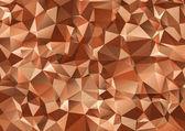 Vintage  polygonal illustration. Geometric background. Triangula