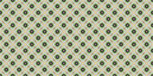 Abstract seamless green pattern for design.