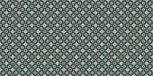 Traditional portuguese tile. Abstract blurred paisley green orna