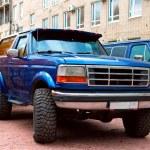 Legendary American off-road motor car Bronco at th...