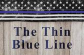 A vékony kék vonal üzenet