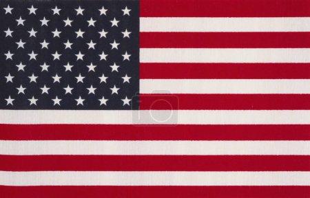Photo pour Drapeau des États-Unis d'Amérique - image libre de droit