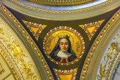 Szent Hedvig mozaik Szent István-székesegyház Budapest Magyarország